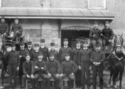memorabilia   pompiers   1910