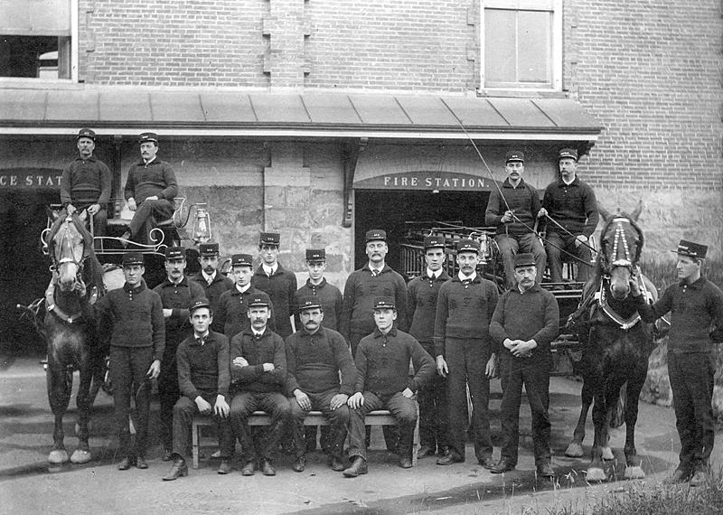 memorabilia - pompiers - 1910