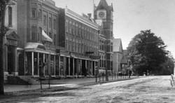 memorabilia   la rue principale vers 1910