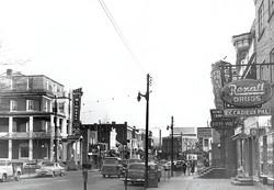memorabilia   la rue principale vers 1952