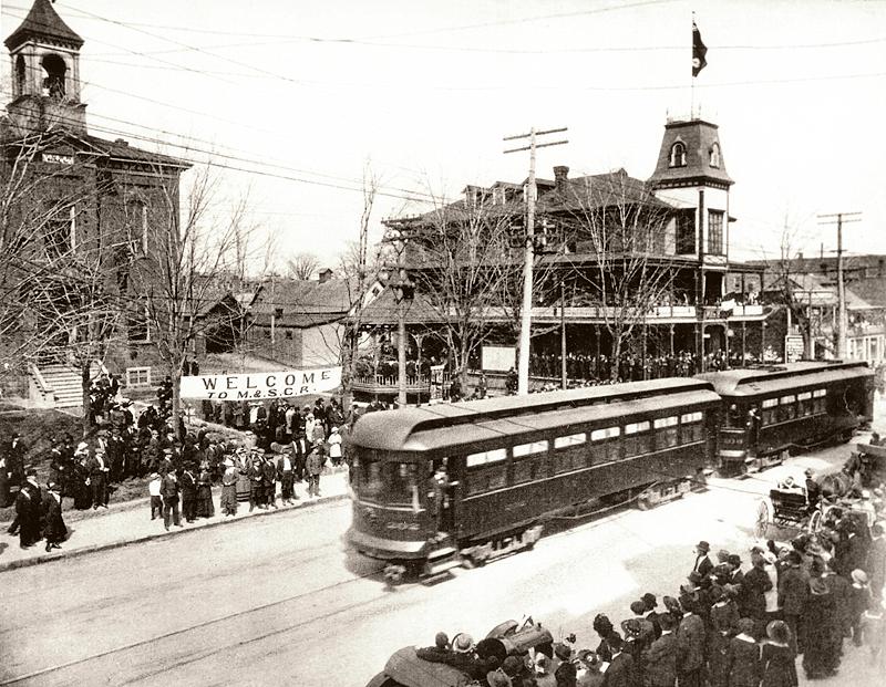 memorabilia - train électrique - 1916