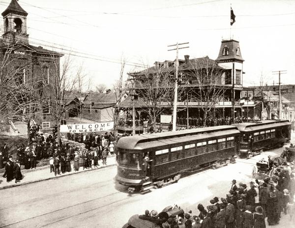 memorabilia   train électrique   1916