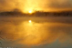 l'automne sur le lac Boivin   autumn on the lake