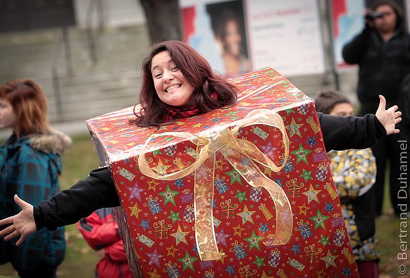 un cadeau de Noël - a Christmas gift