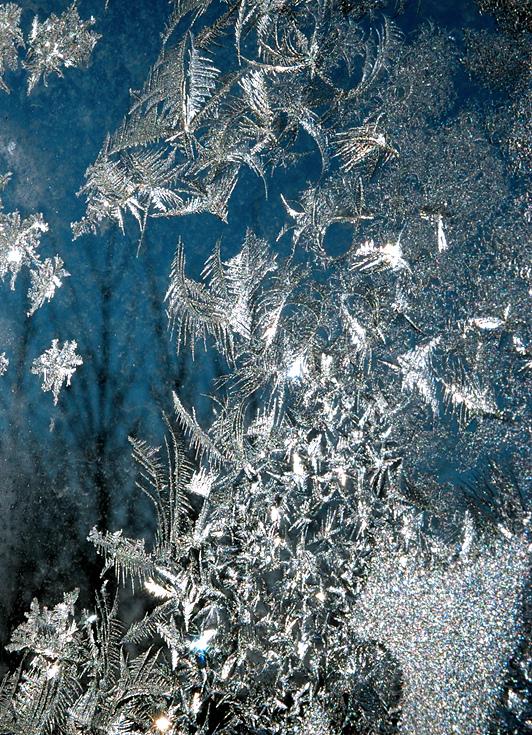 fenêtre de givre - frost window