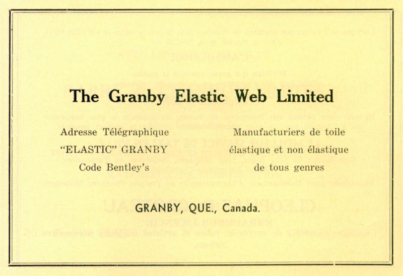 memorabilia - adresse télégraphique - 1936