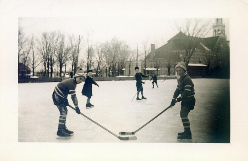 memorabilia - hockey - 1945