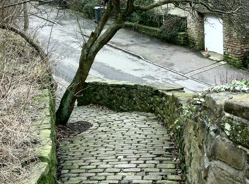 Church Brow, Warhill between Mottram & Mudd
