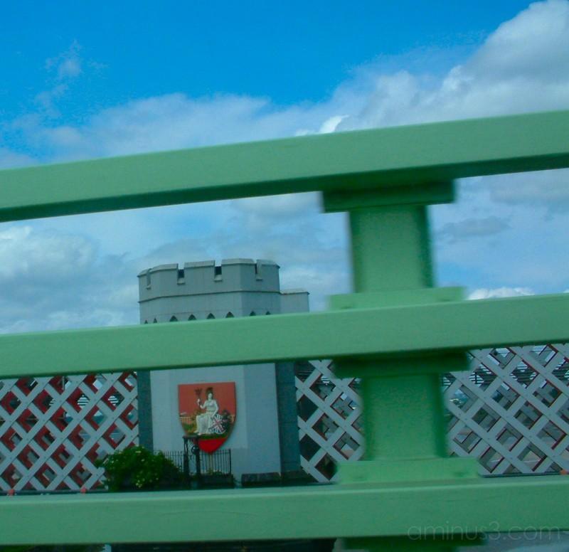 Widnes-Runcorn Bridge across the Mersey