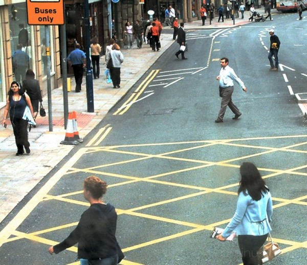 Oxford Road, Manchester July 2003