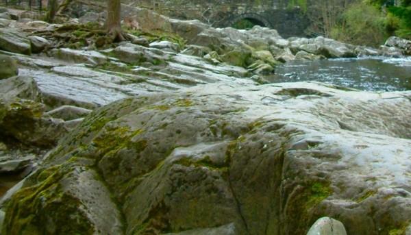 Rocks at Betws-y-coed