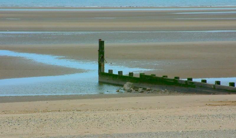 The beach at Rhyl, 17th June 2005