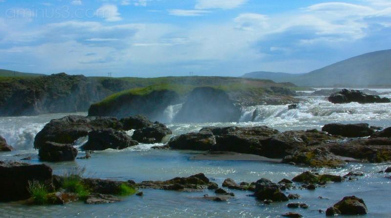 Goðafoss, Iceland, Waterfall