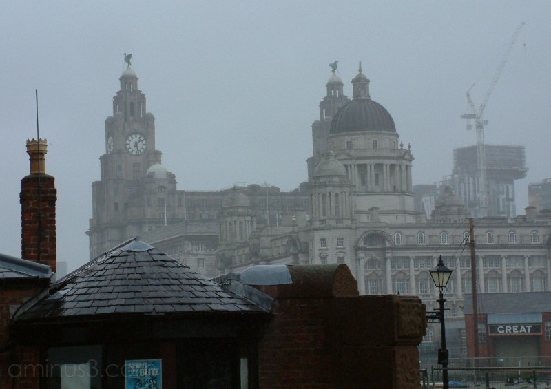 Foggy Liverpool