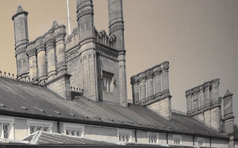 Chimneys on Shrewsbury Railway Station