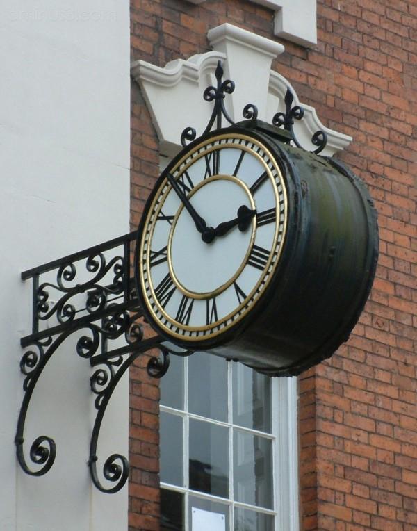 Guildhall Clock, Lichfield