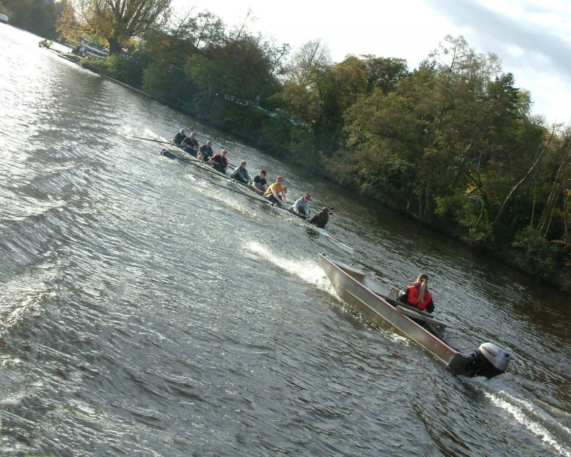 rowing on the river dee at chester