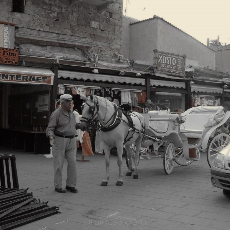 Landau in El Venizelou Square, Chania