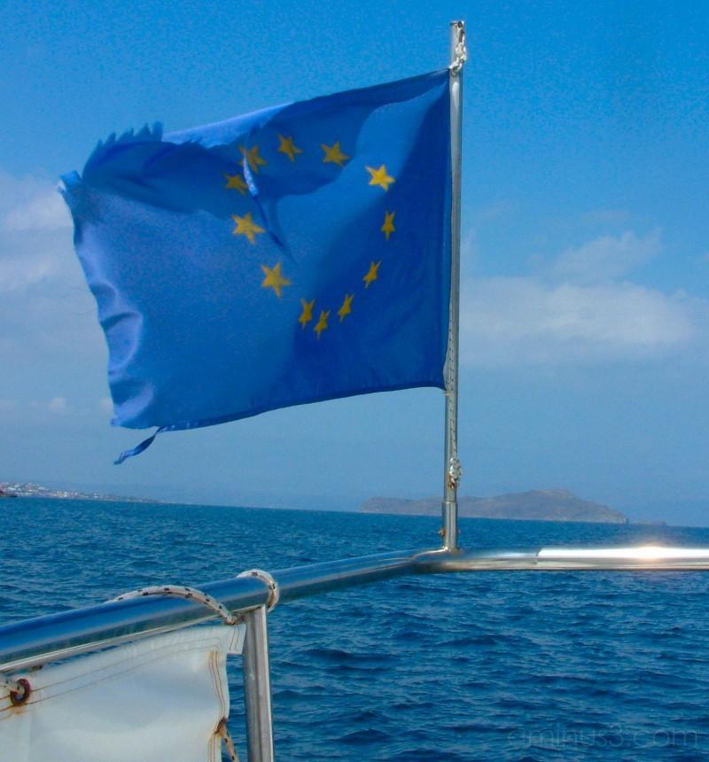 Sailing to Lazaretta Island