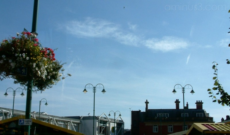 Sky over Hyde Market 2003