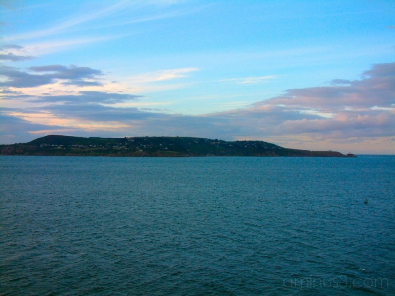 leaving Dublin and rounding Howth