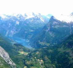 above Geiranger, Norway
