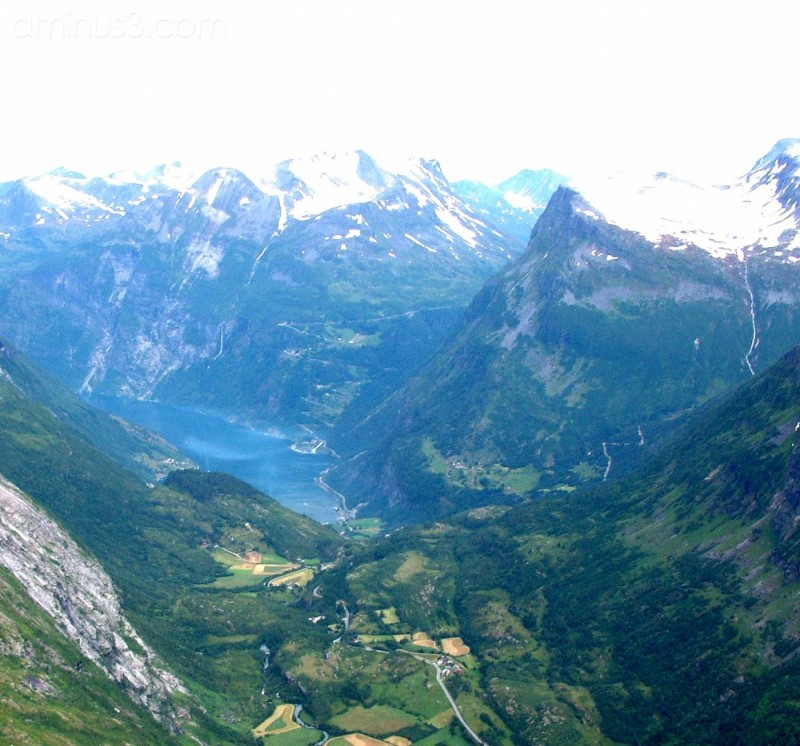 above Geiranger, Norway