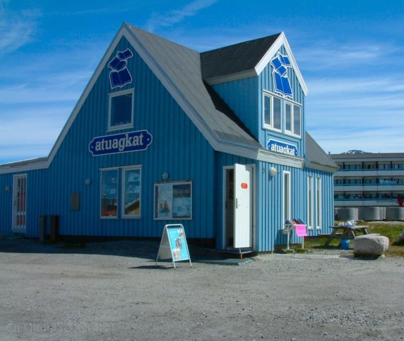 Atuagkat bookshop, Nuuk, Greenland