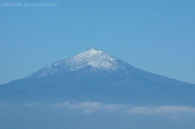 El teide from La Gomera