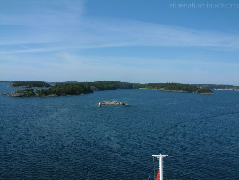 Anchored off Nynäshamn, Sweden.