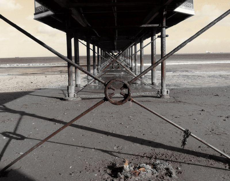 Under Paignton Pier