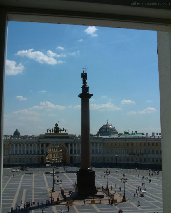 From the Hermitage in St Petersburg