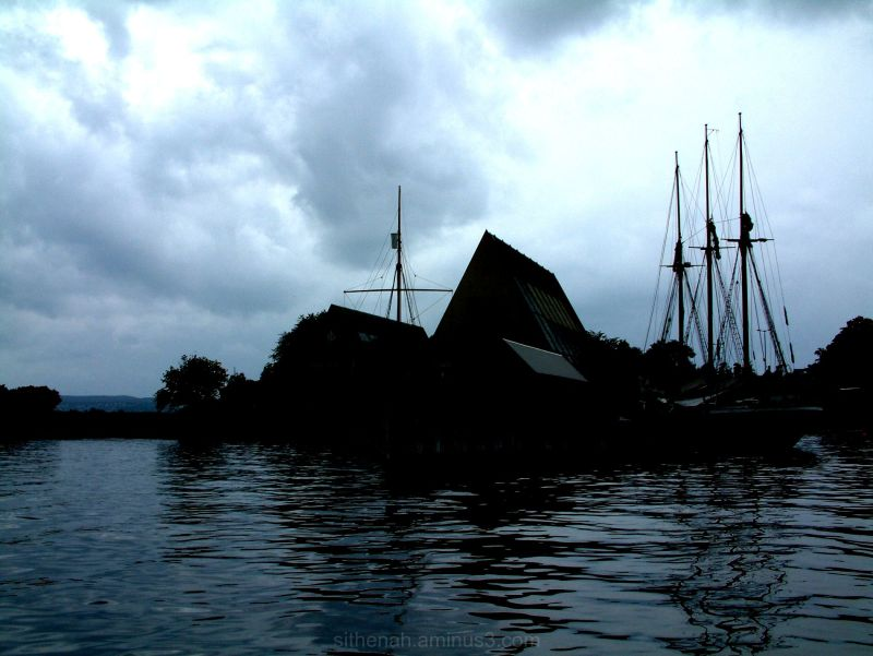 The Kon Tiki Museum from Oslo Fjord