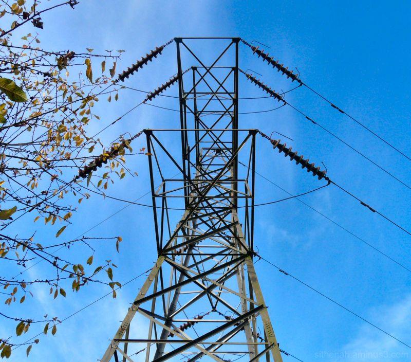 Pylon near Godley, Hyde
