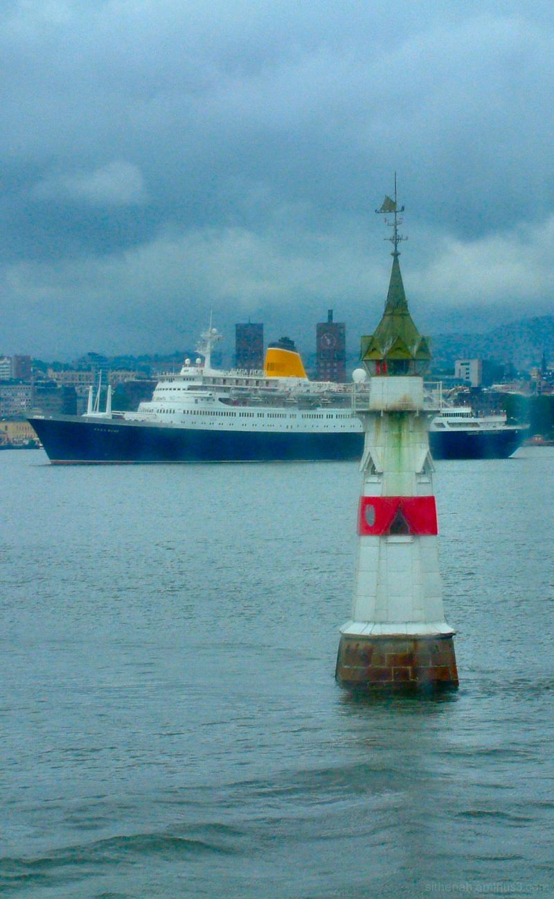 Kavringen Fyr in Oslo Harbour