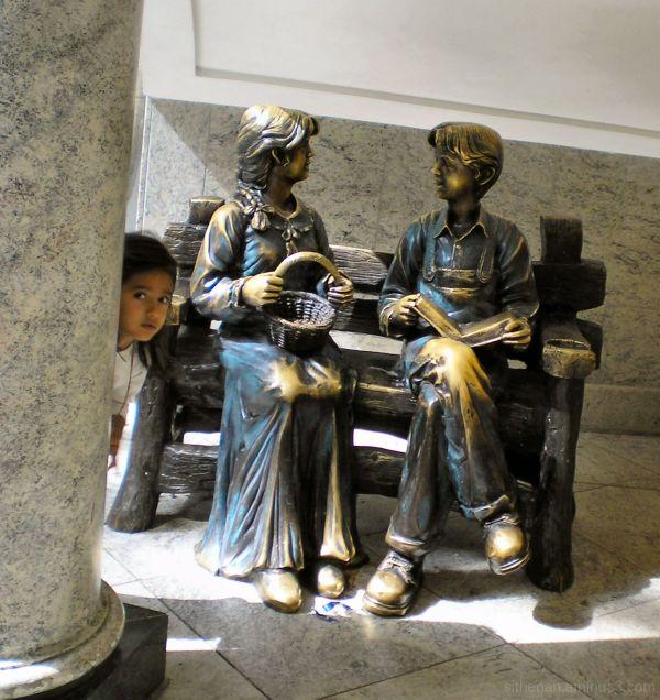 Sculpture in the Trafford Centre