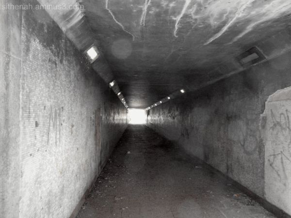 Underpass from Cheapside to Morrisons under M67