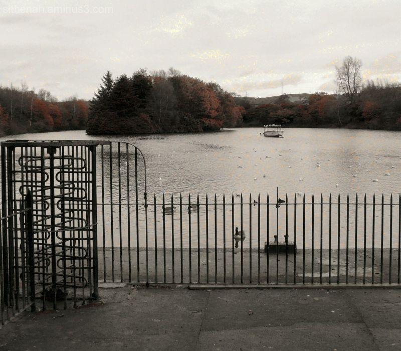 Stamford Park Boating Lake Ashton under Lyne