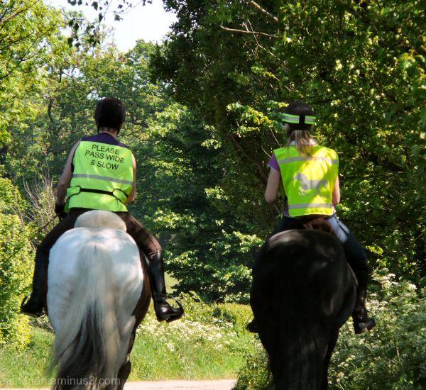 Horse riders near Stockport