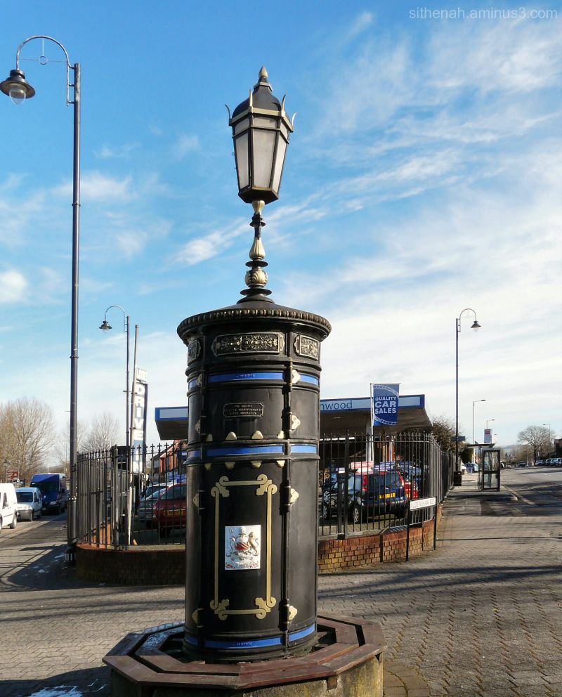 Transformer pillar at Audenshaw