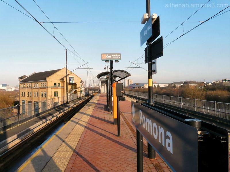 Pomona Tram Station, Manchester