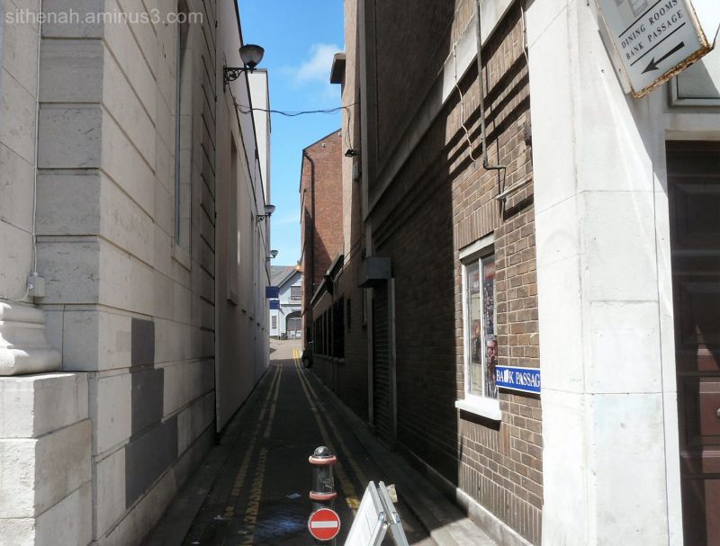 Bnk Passage off Lord Street Southport