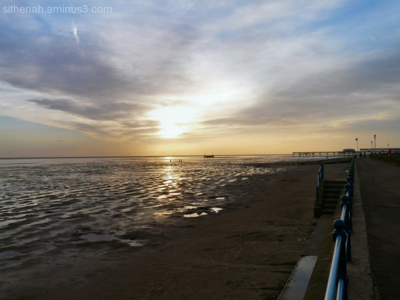 Sunset at St Annes