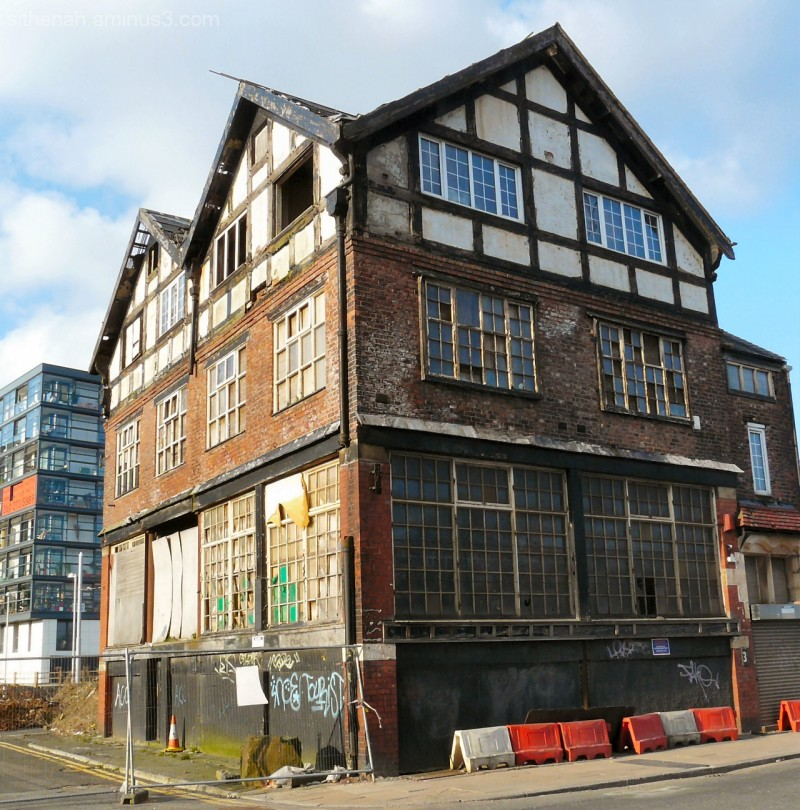 Old building at New Islington