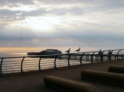 Blackpool evening