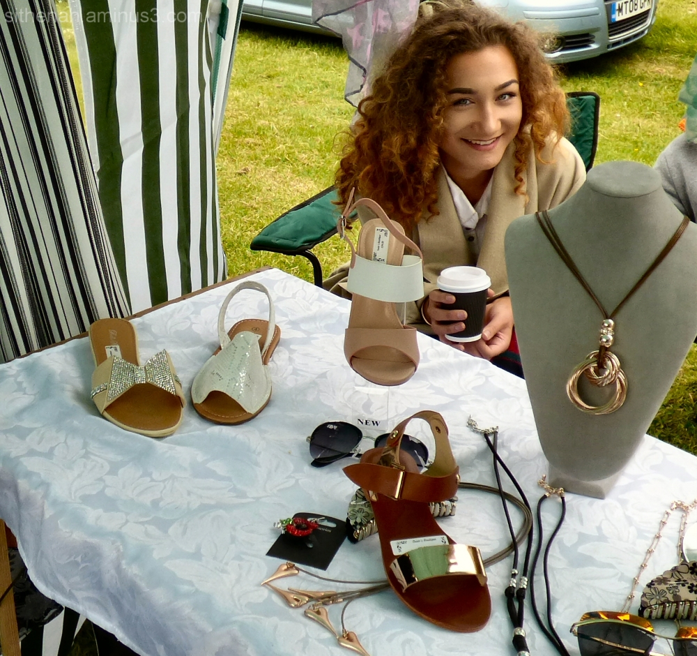 Elise from Susie's boutique at Gee Cross Fete