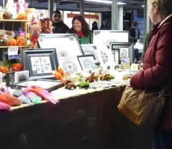 Craft stall on Hyde Market