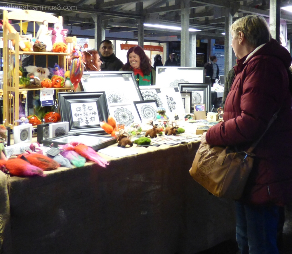 Craft stall on Hyde Market