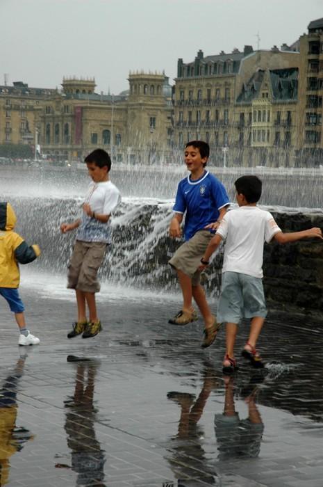 Juegos de agua I - Donosti