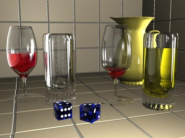 Wine Glasses in 3D